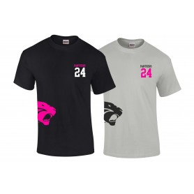 Oxford Brookes Panthers - Side Logo T-Shirt