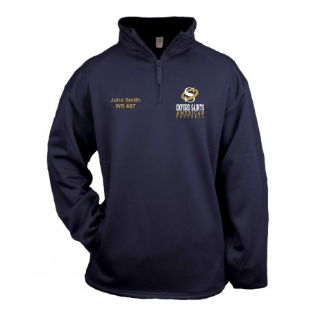 Oxford Saints - Embroidered Poly Fleece 1/4 Zip Pullover