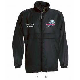 Sussex Thunder - Custom Lightweight College Rain Jacket