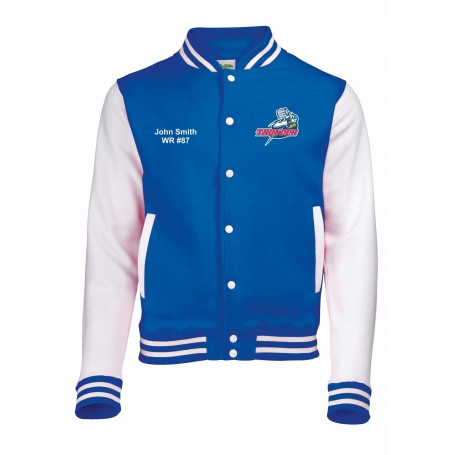 Sussex Thunder - Embroidered Varsity Jacket