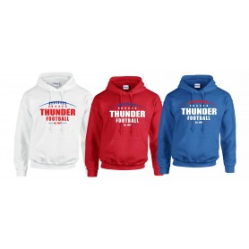 Sussex Thunder - Laces Logo Hoodie