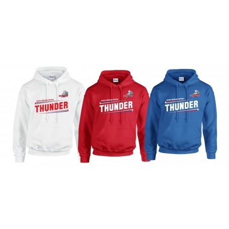 Sussex Thunder - Slanted Text Logo Hoodie