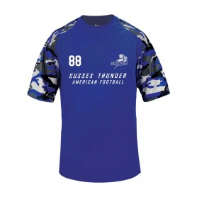 Sussex Thunder - Printed Camo Performance Tee