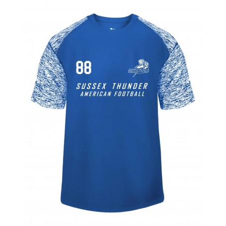 Sussex Thunder - Printed Blend Performance Tee