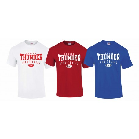 Sussex Thunder - Custom Ball 2 T-Shirt