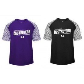 Portsmouth Destroyers - Printed Blend Sport Tee