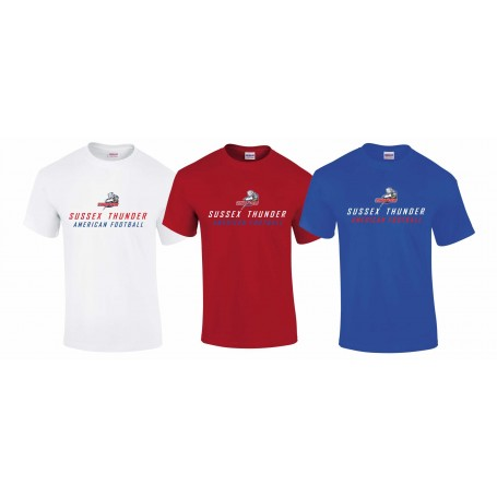 Sussex Thunder - Text Logo T-Shirt