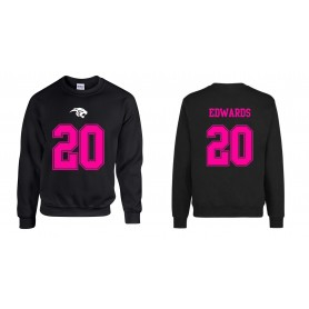 Oxford Brookes Panthers - Jersey Style Sweatshirt
