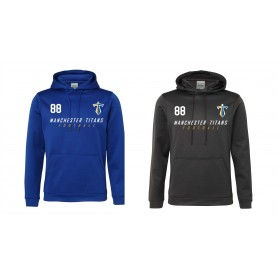 Manchester Titans - Printed Performance Hoodie