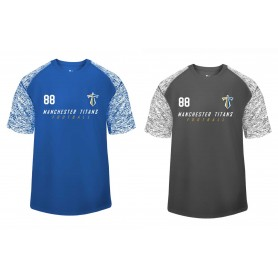 Manchester Titans - Printed Blend Performance Tee
