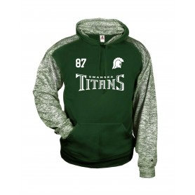 Swansea Titans - Sports Blend Text Logo Hoodie