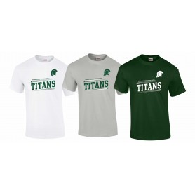 Swansea Titans - Slanted Text logo T-Shirt