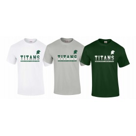 Swansea Titans - Split Text logo T-Shirt