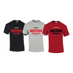 City Wolfpack - Laces Logo T-Shirt