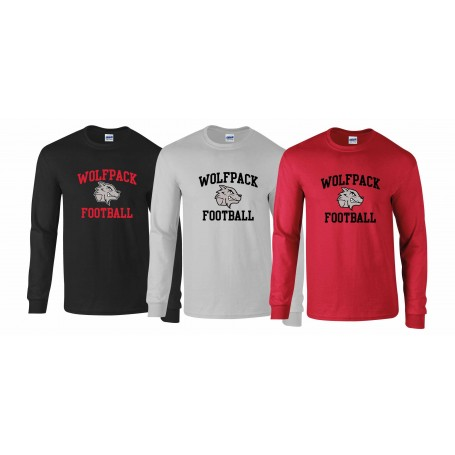 City Wolfpack - Football Longsleeve T-Shirt