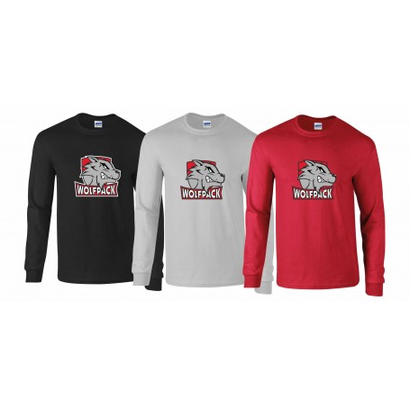 City Wolfpack - Full Longsleeve T-Shirt