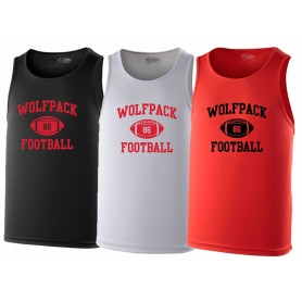 City Wolfpack - Custom Ball Logo Performance Vest 1