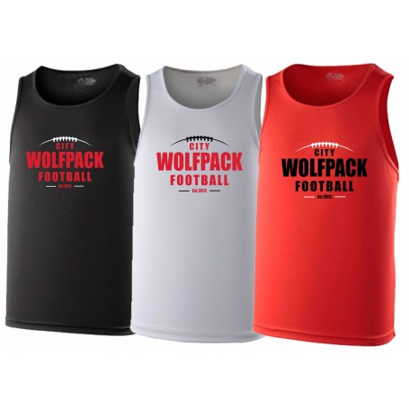 City Wolfpack - Laces Logo Performance Vest