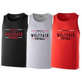City Wolfpack - Property of Logo Performance Vest