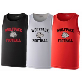 City Wolfpack - Football Logo Performance Vest