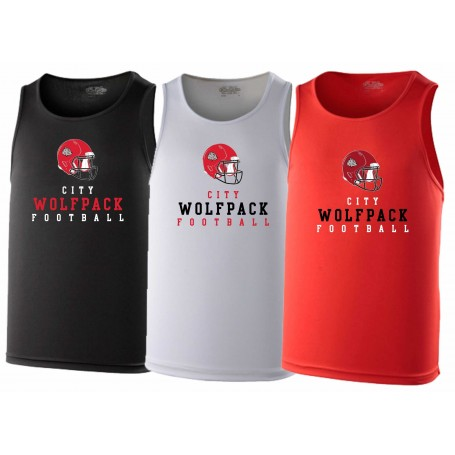 City Wolfpack - Helmet Logo Performance Vest