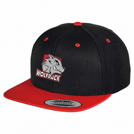 City Wolfpack - Two-Tone Embroidered Snapback