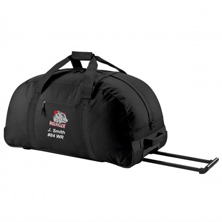City Wolfpack - Embroidered Wheelie Holdall
