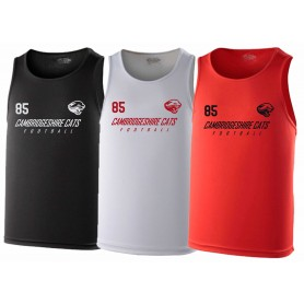 Cambridge Cats - Text Logo Performance Vest
