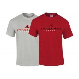 City Wolfpack - Sentinels Alumni Text Logo T-Shirt