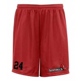 City Wolfpack - Custom Sentinels Alumni Embroidered Mesh Shorts