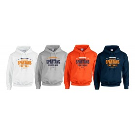 Sunderland Spartans - Laces Logo Hoodie