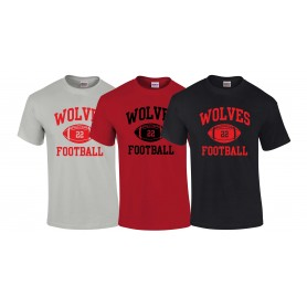 Warwick Wolves - Custom Ball Logo T-Shirt 1