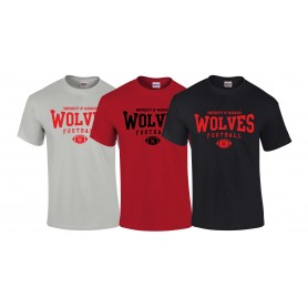Warwick Wolves - Custom Ball Logo T-Shirt 2