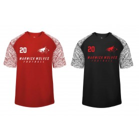 Warwick Wolves - Printed Blend Performance Tee