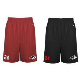 Warwick Wolves - Embroidered Money Mesh Pocket Shorts