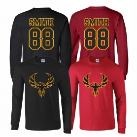 Kent Phoenix - Full Logo Players Long Sleeve T-Shirt