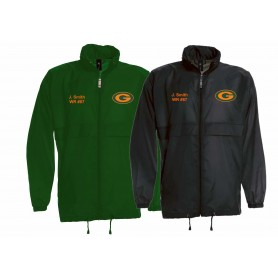 Gateshead Senators - Lightweight College Rain Jacket