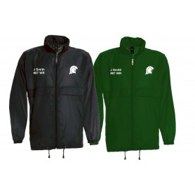 Swansea Titans - Custom Lightweight College Rain Jacket