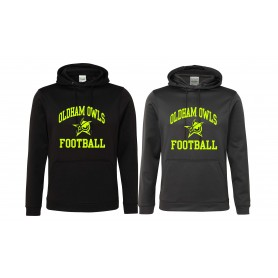 Oldham Owls - Sports Performance Logo Hoodie