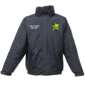 Oldham Owls - Embroidered Heavyweight Dover Rain Jacket
