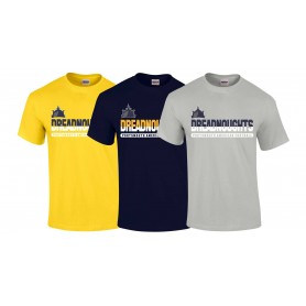 Portsmouth Dreadnoughts - Athletic Split Text Logo T Shirt