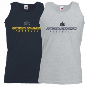 Portsmouth Dreadnoughts - Ship Text Logo Vest