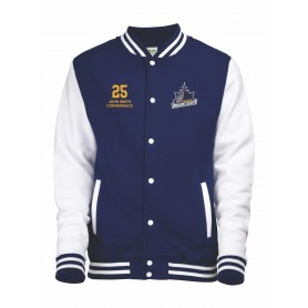 Portsmouth Dreadnoughts - Custom Embroidered Ship Logo Varsity Jacket