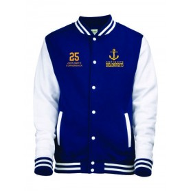 Portsmouth Dreadnoughts - Custom Embroidered Anchor Logo Varsity Jacket