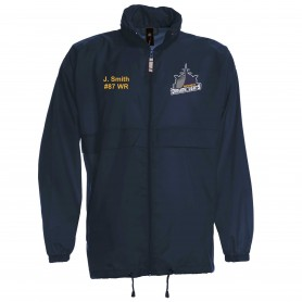 Portsmouth Dreadnoughts - Ship Logo Lightweight College Rain Jacket