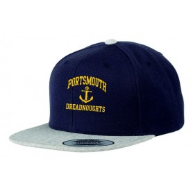 Portsmouth Dreadnoughts - Embroidered Anchor Logo 2 Tone Snapback