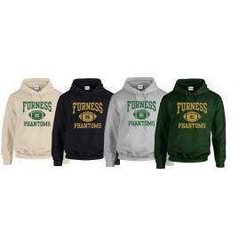 Furness Phantoms - Custom Ball Logo Hoodie 1