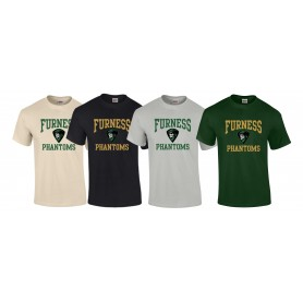 Furness Phantoms - Football Logo T-Shirt