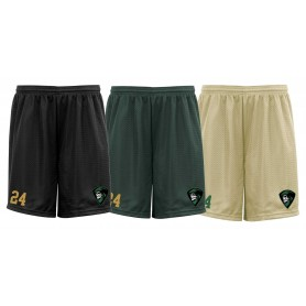 Furness Phantoms - Embroidered Mesh Shorts