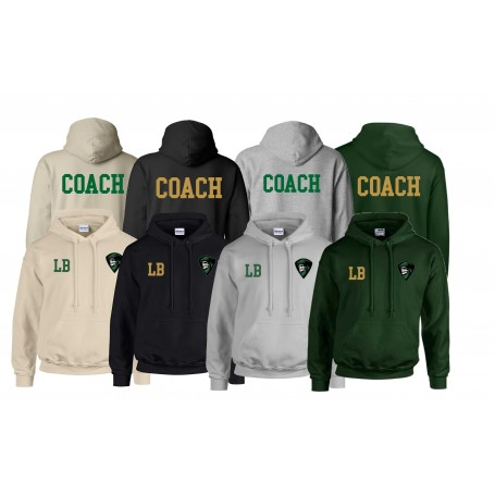 Furness Phantoms - Coaches Print and Embroidered Hoodie